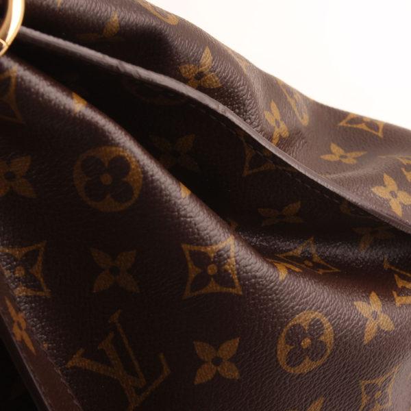 Imagen de la lona bolso louis vuitton metis monogram