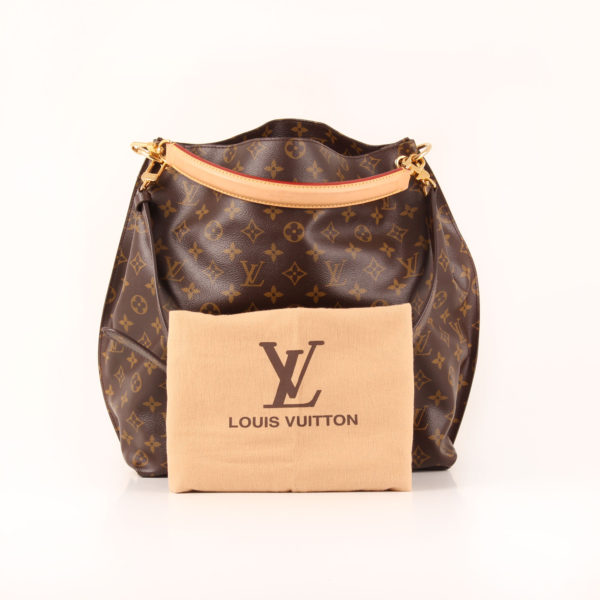 Imagen del dustbag del bolso louis vuitton metis monogram