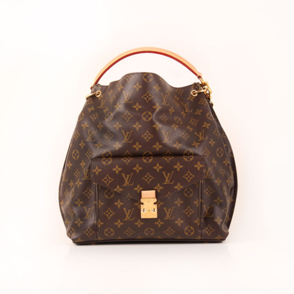 Front image of louis vuitton bag metis monogram