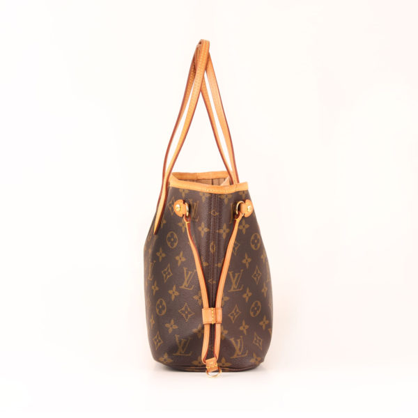 Side 1 image of louis vuitton neverfull bag pm monogram