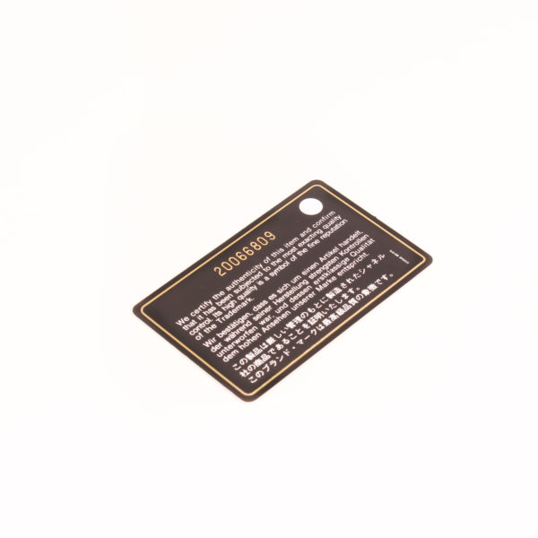 Imagen de la tarjeta del bolso chanel woc negro