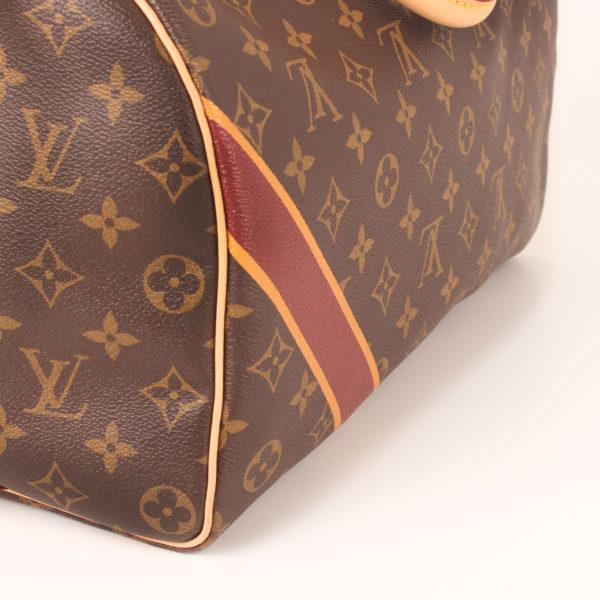 Imagen del detalle del bolso louis vuitton speedy 35 mon monogram