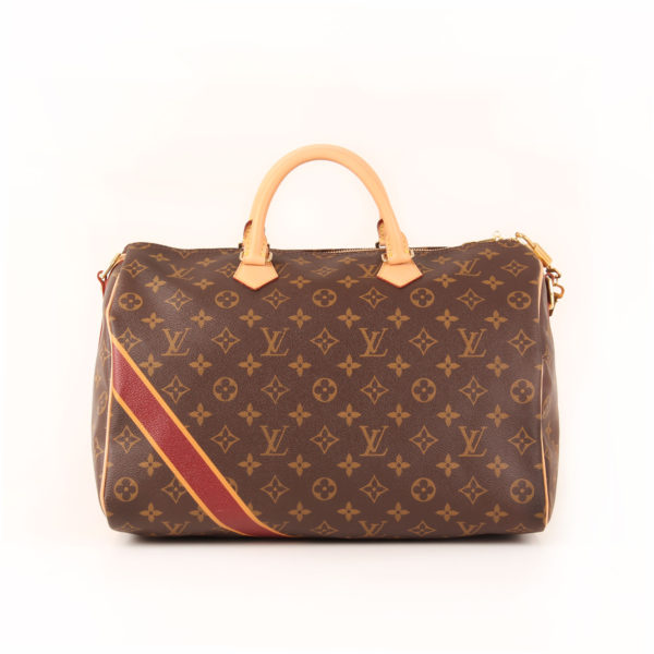Imagen frontal del bolso louis vuitton speedy 35 mon monogram