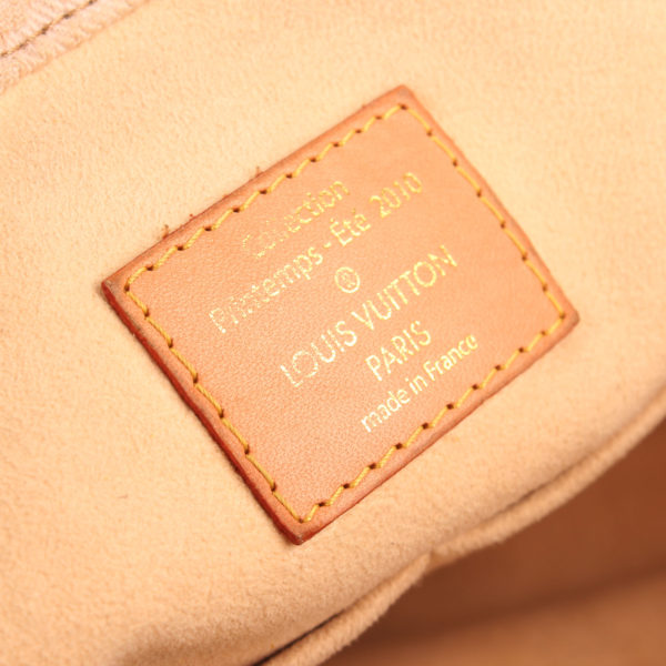 Brand image of louis vuitton sunrise denim bag