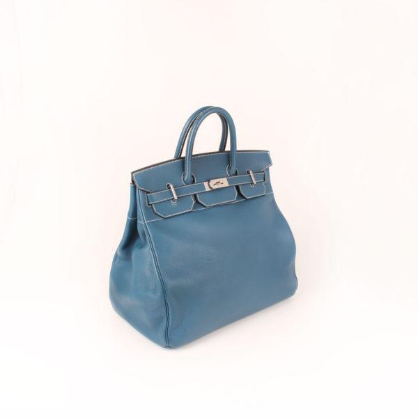 Imagen general de la bolsa hermes HAC azul