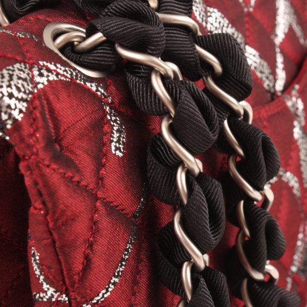 Imagen de la cadena del bolso chanel brocade ¡