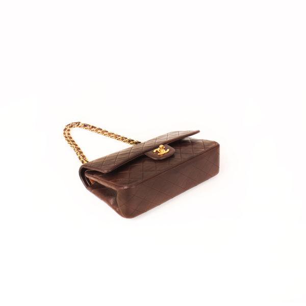 Imagen general del bolso chanel double flap marron