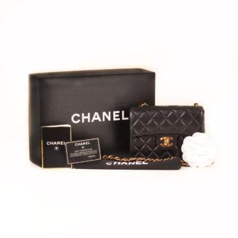 d7b22b9e96f2 Chanel Black Mini Classic Flap Bag | CBL Bags