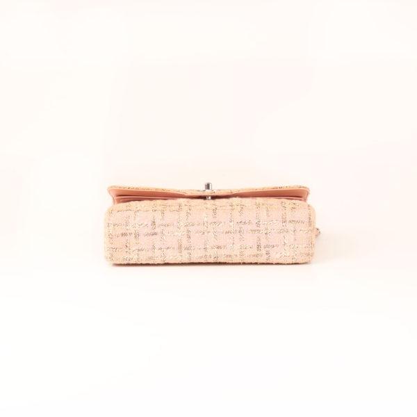 Imagen de la base del bolso chanel tweed rosa