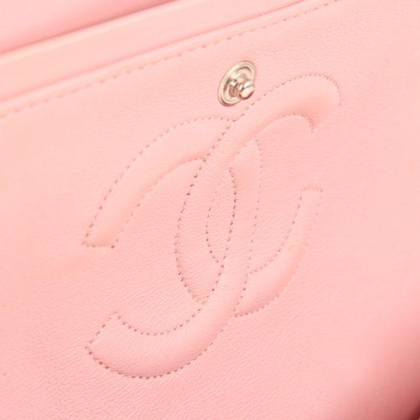 Imagen del holograma del bolso chanel tweed rosa