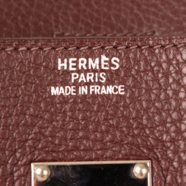 Brand image of hermes birkin shoulder brown