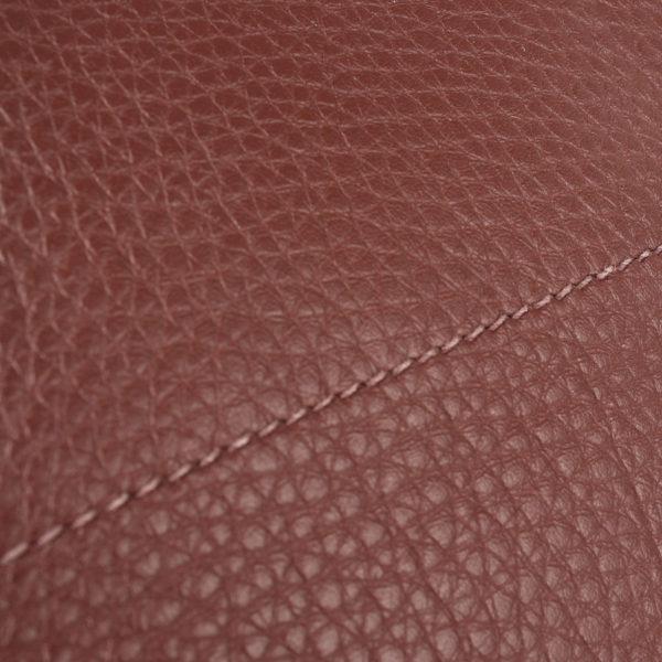 Leather image of hermes birkin shoulder brown