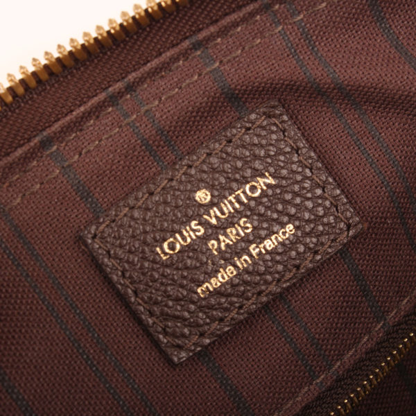 Brand image of louis vuitton speedy bag embossed