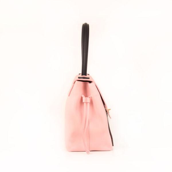 Imagen del lado 1 del bolso lv lockme rosa