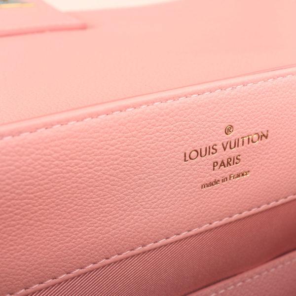 Imagen de la marca del bolso lv lockme rosa