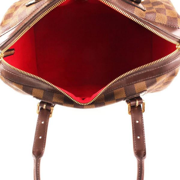 Interior image of louis vuitton berkeley damier bag