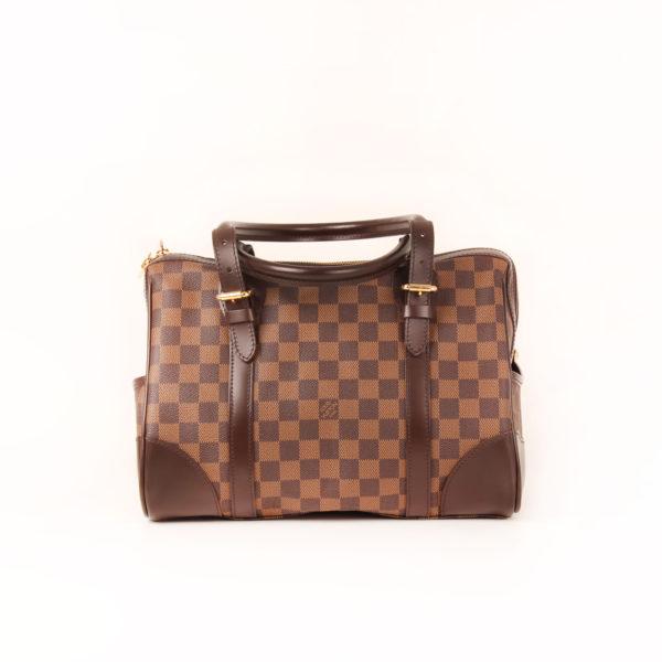 Imagen trasera del bolso louis vuitton berkeley damier