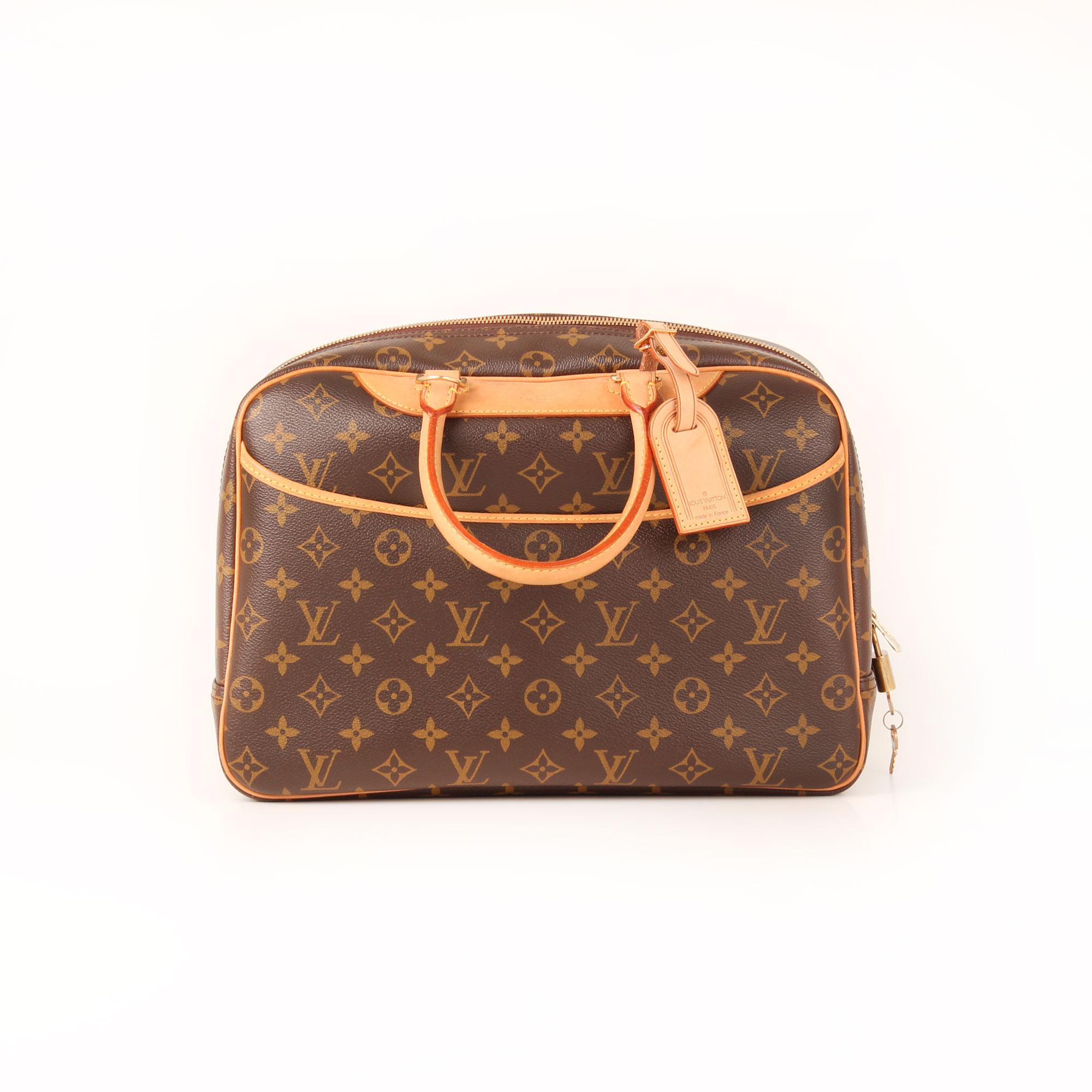 Louis Vuitton Deauville Monogram Bag Cbl Bags