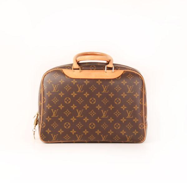 Imagen trasera del bolso louis vuitton deauville