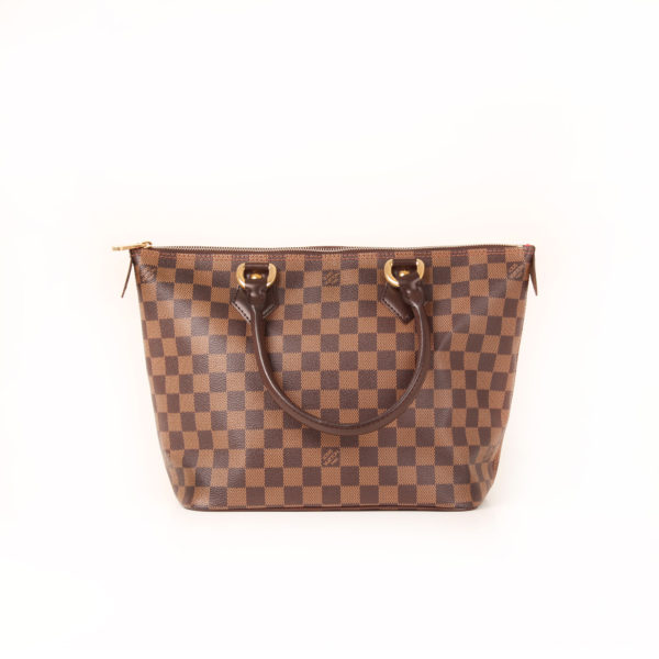 Front image of louis vuitton saleya damier bag front