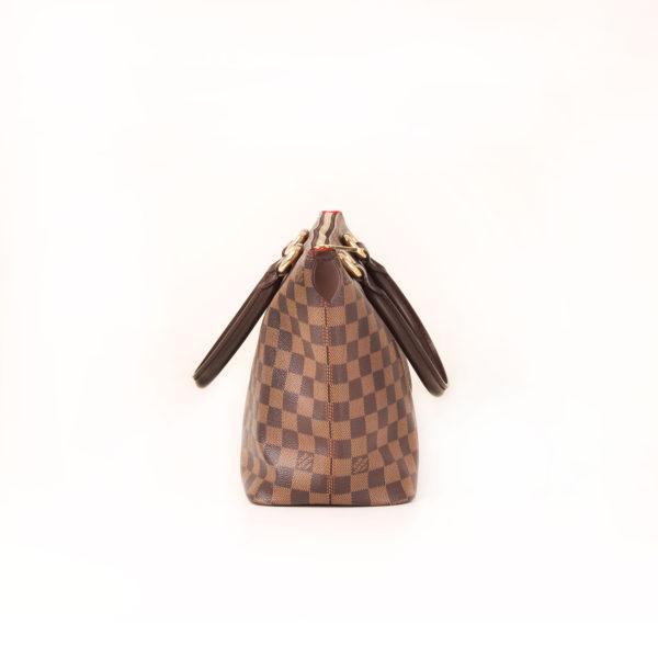 Imagen del lado 1 del bolso louis vuitton saleya damier