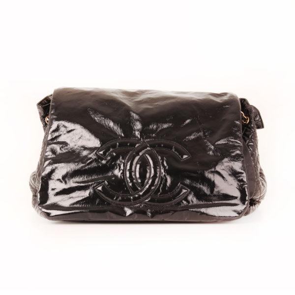 Imagen frontal 1 del bolso chanel patent negro