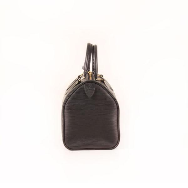 Imagen del lado 1 del bolso louis vuitton speedy 28 epi negro