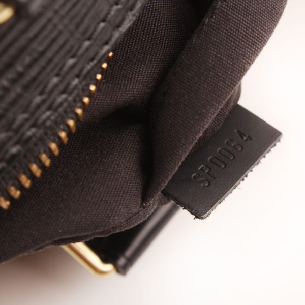 Imagen del serial del bolso louis vuitton speedy 28 epi negro