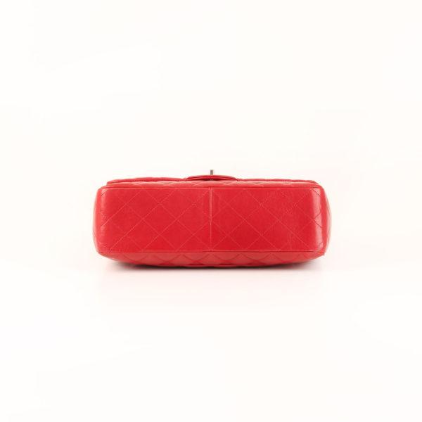 Imagen de la base del bolso chanel jumbo rojo