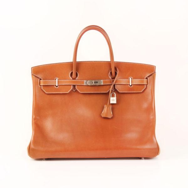 Front image of hermes birkin 40 bag