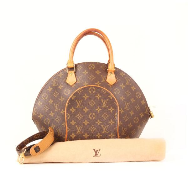 Imagen del dustbag bolso louis vuitton ellipse monogram