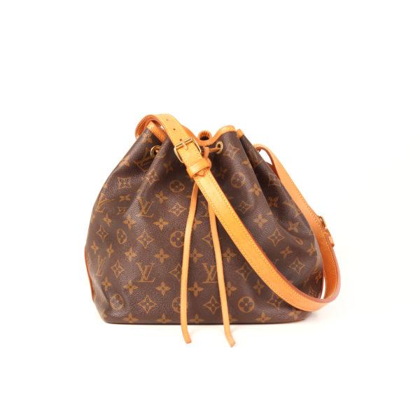 Imagen frontal del bolso louis vuitton noe monogram