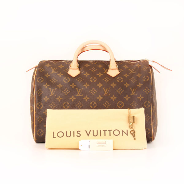 Imagen del dustbag del bolso louis vuitton speedy 35 monogram