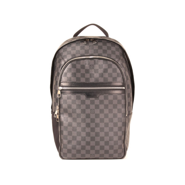 Front image of louis vuitton backpack michael