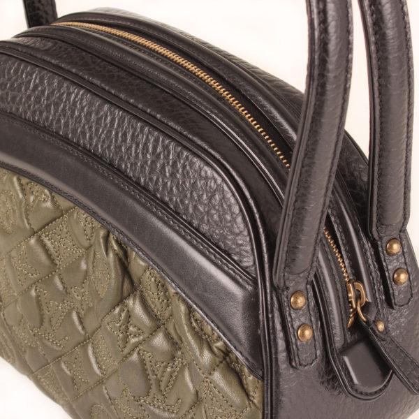 Imagen de la cremallera del bolso louis vuitton vienna klara monogram embossed verde