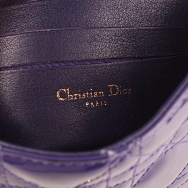 Imagen de la marca del bolso dior promenade purple
