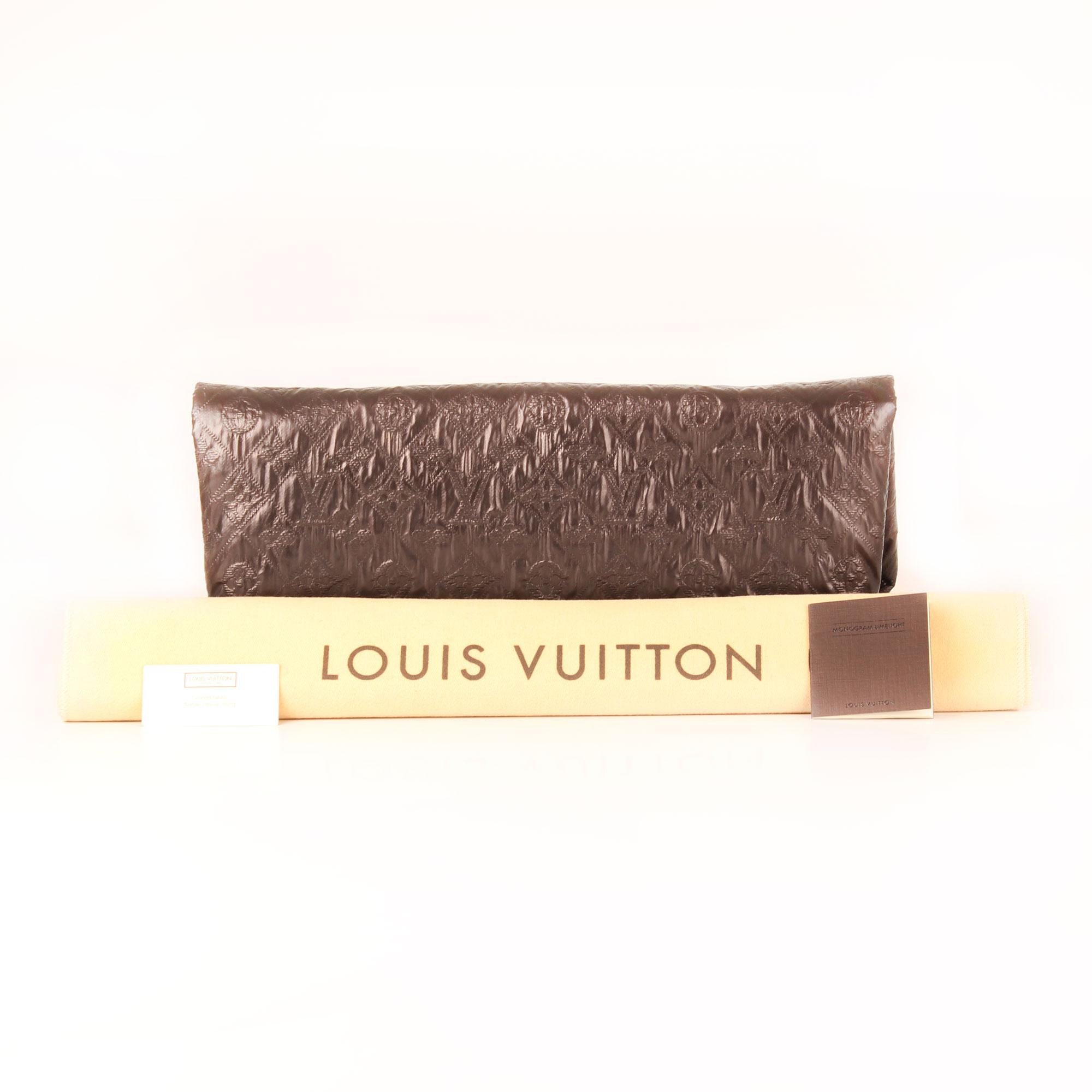 deb728cf2b3a Louis Vuitton Clutch Limelight GM in Metallic Black I CBL Bags