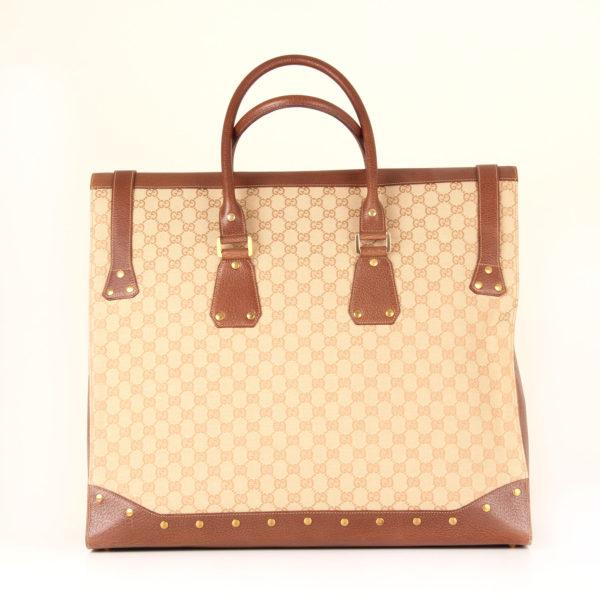 gucci-travel bag-gg-canvas-vintage-back
