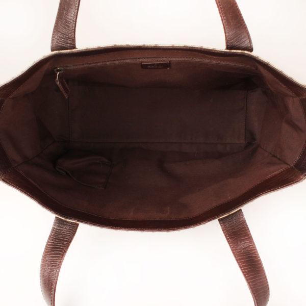 bolso-gucci-gg-canvas-tote-beige-marron-interior