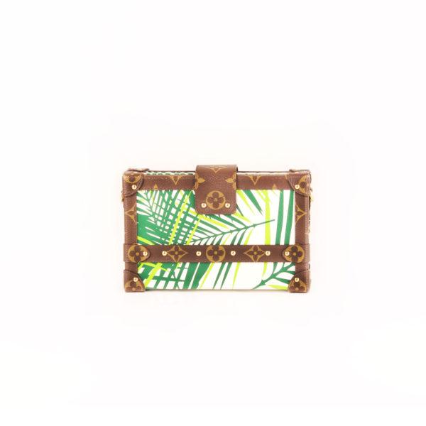 Imagen trasera del bolso louis vuitton petite malle cruise