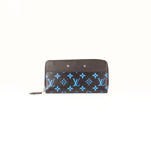 louis-vuitton-wallet-zippy-monogram-blue-black-front