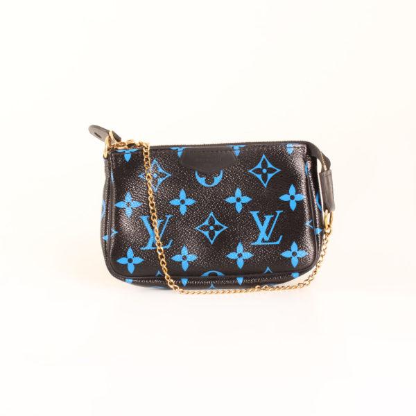 louis-vuitton-pochette-mini-accessoires-monogram-azul-negro-frontal