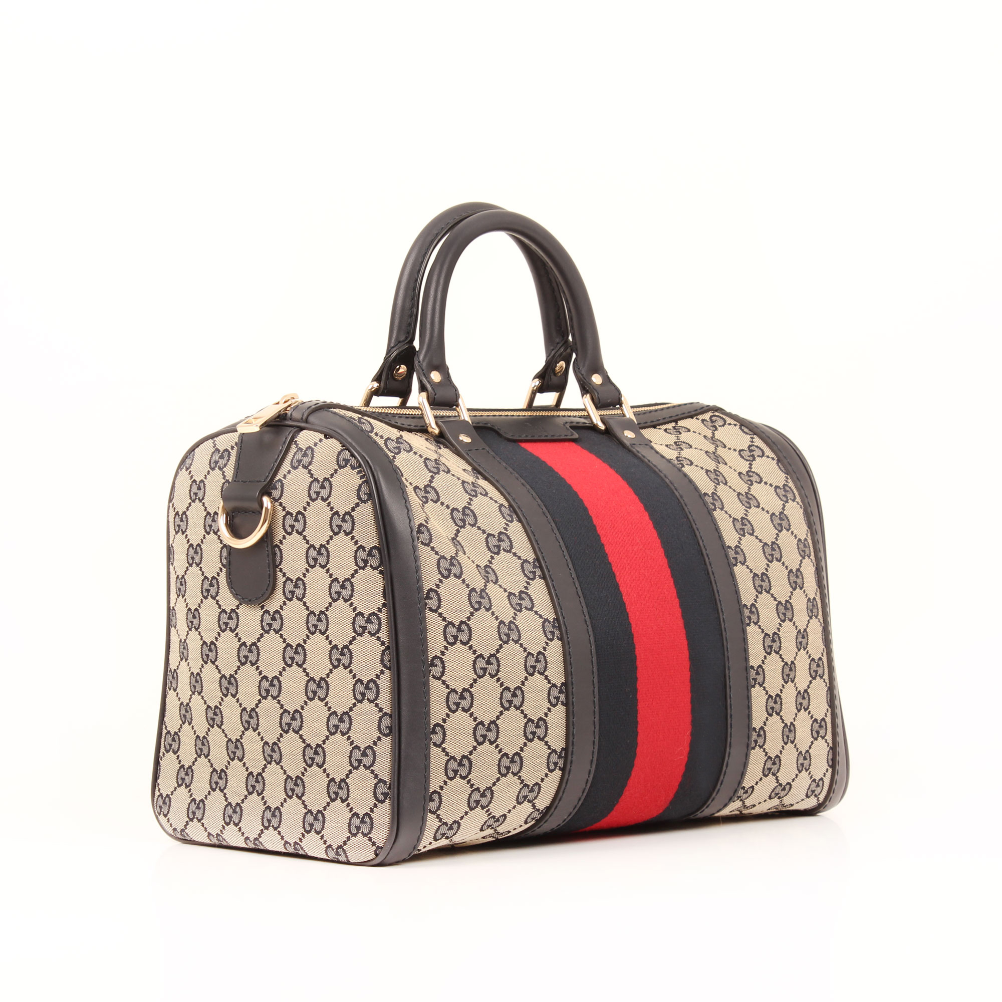 a2a453917 Gucci Vintage Web Original GG Boston | CBL Bags