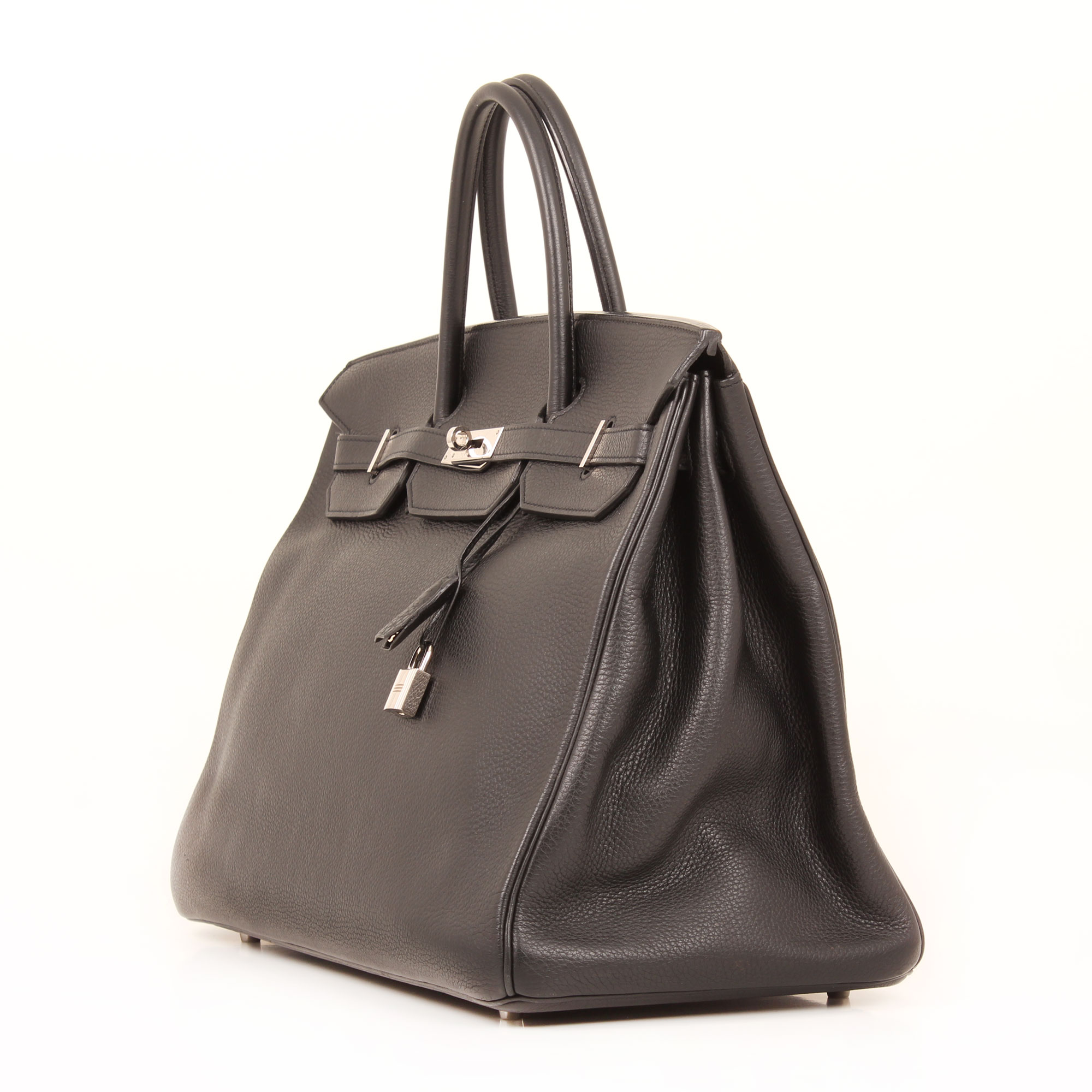 f09c4493852 Hermès Birkin 40 Handbag Togo Leather Black Palladium I CBL Bags