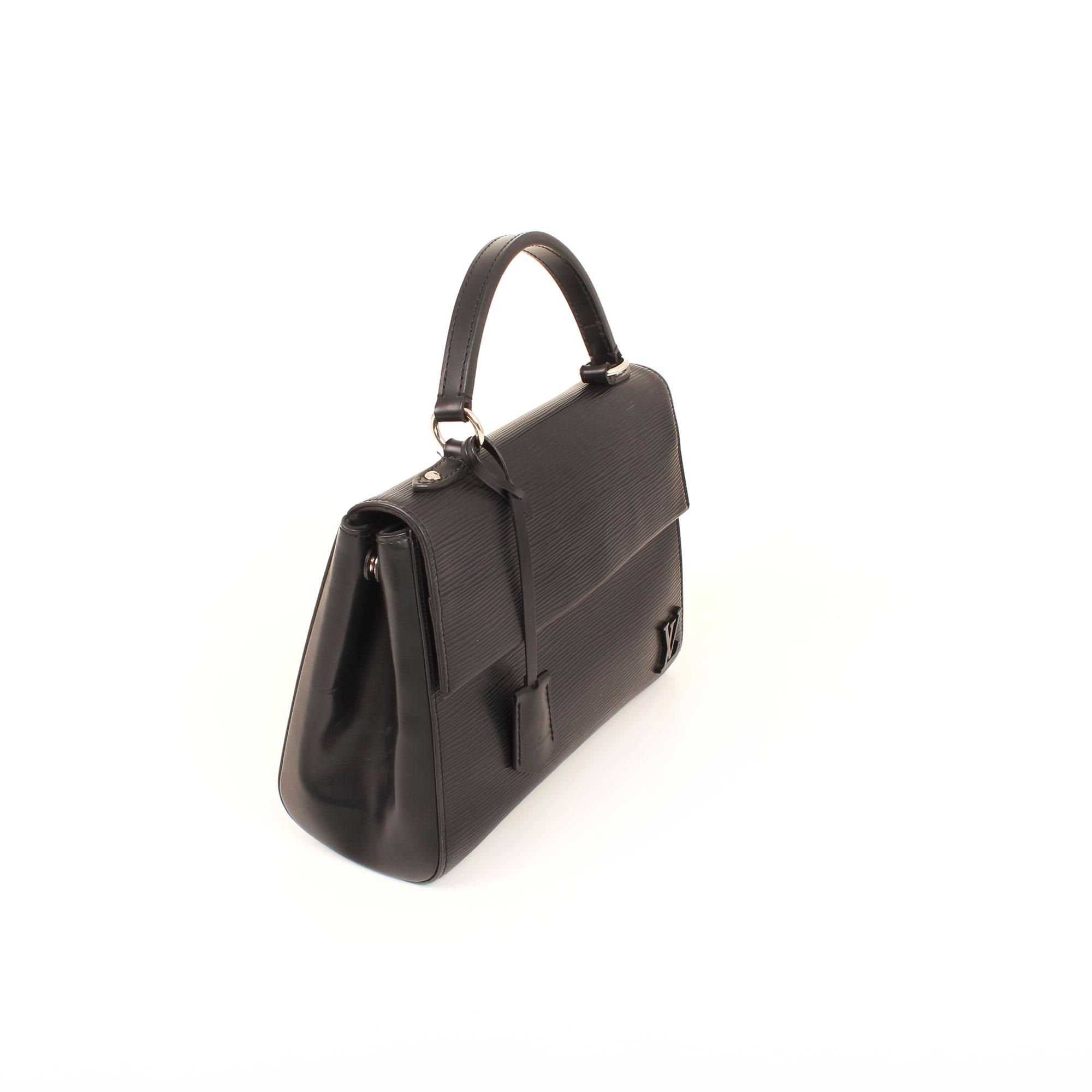 Imagen de los extras del bolso louis vuitton clooney bb negro