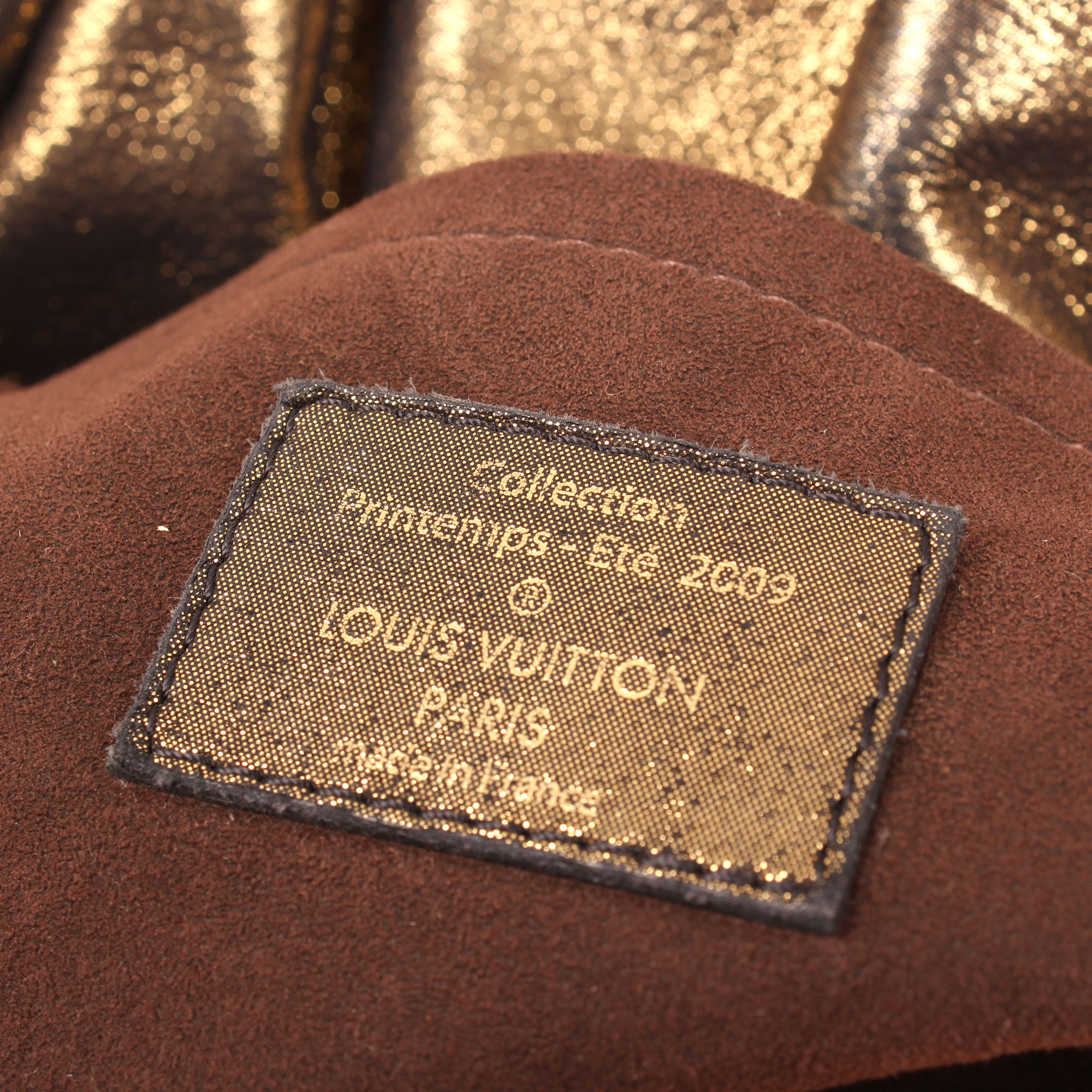 Imagen del tag del bolso louis vuitton kalahari pm