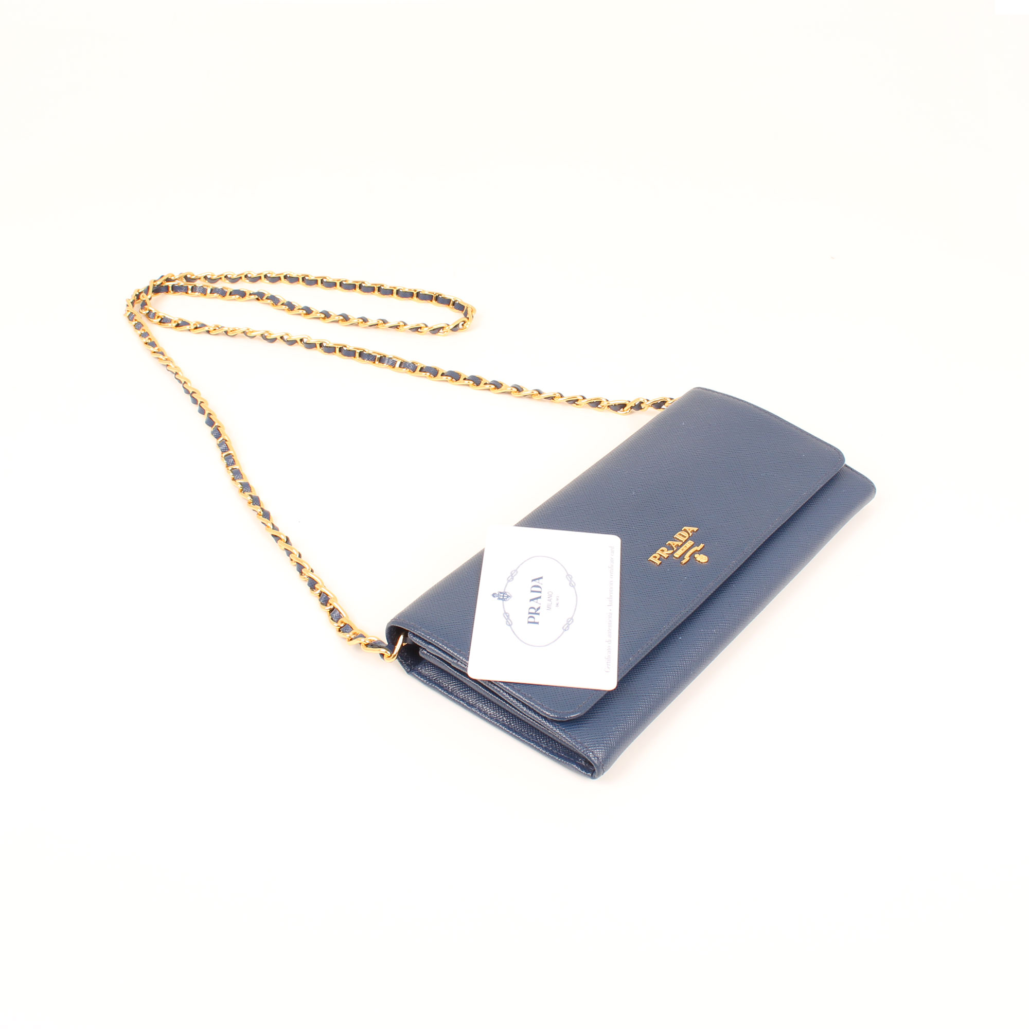 bolso-prada-wallet-on-chain-saffiano-metal-bluette-azul-tarjeta