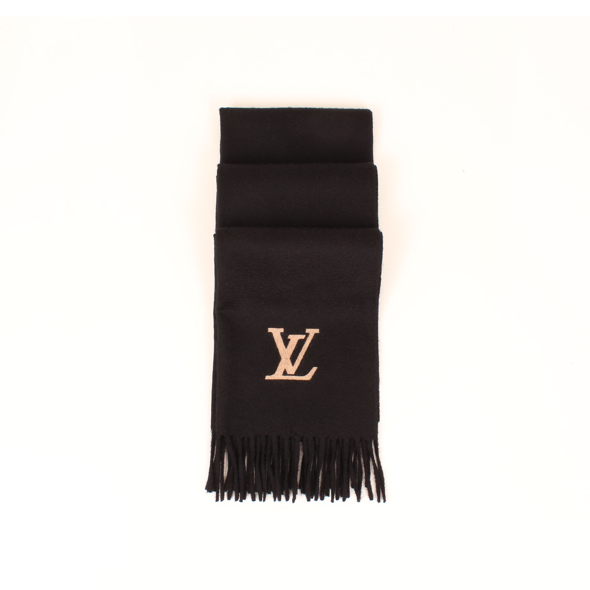 scarf-louis-vuitton-cashmere-jehlam-black-pleated