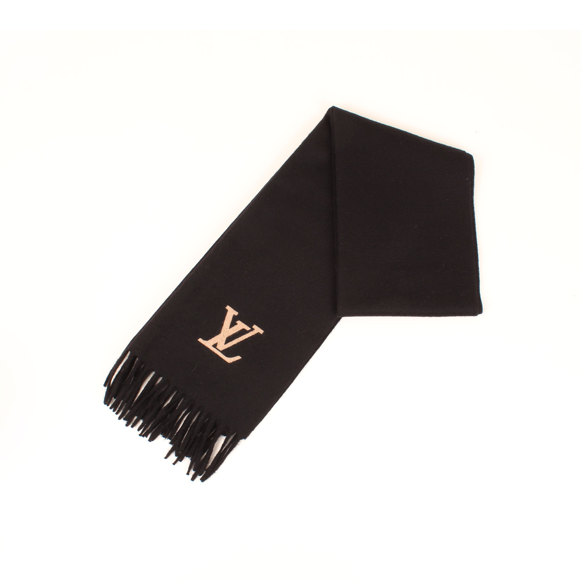bufanda-louis-vuitton-jehlam-cashmere-negra-doblada