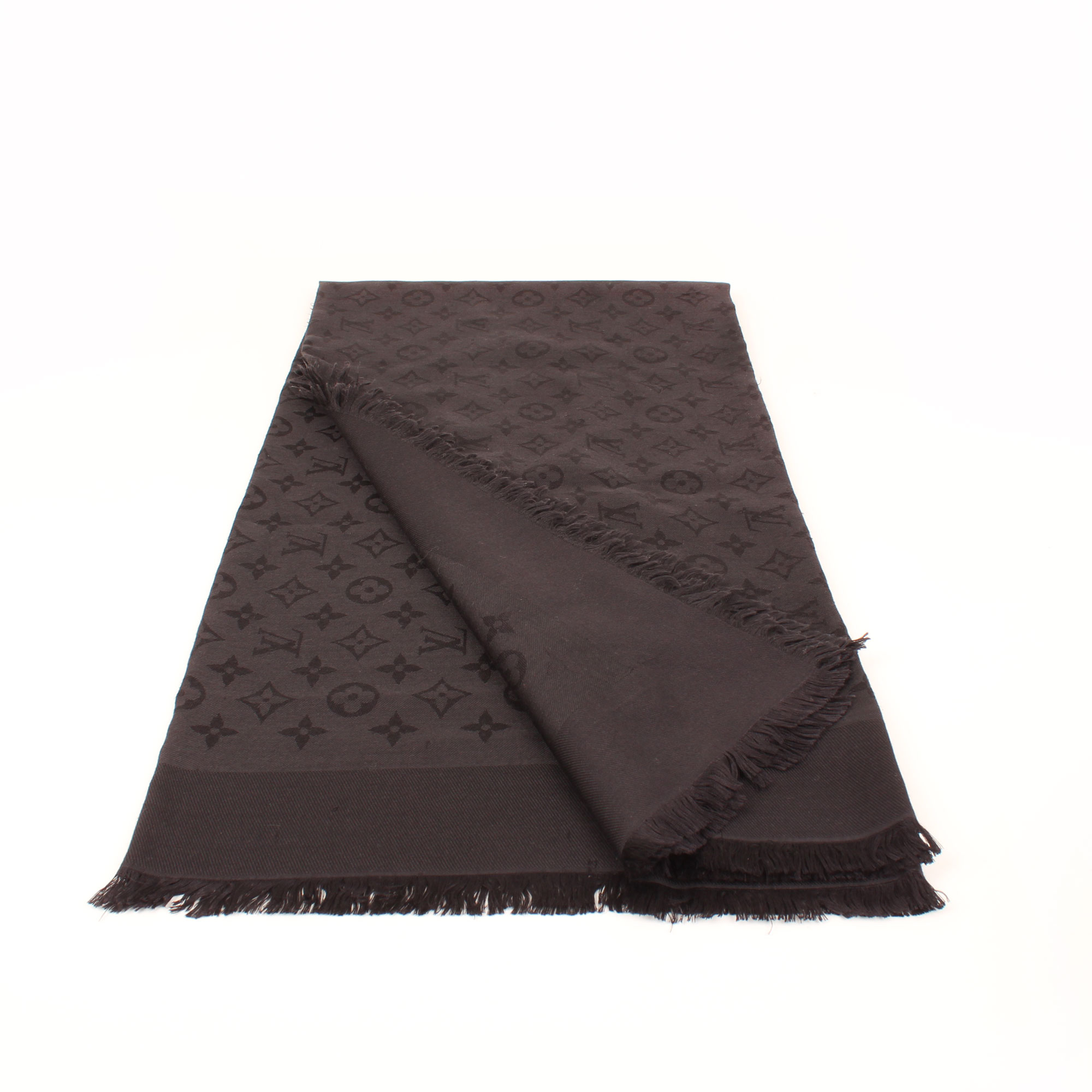 shawl-louis-vuitton-monogram-black-general